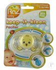 Raz Baby Keep-It-Kleen Schnuller Bobby Bear 0-36 Monate 1 Stück