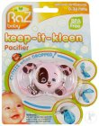 Raz Baby Keep-It-Kleen Schnuller Pink Puppy 0-36 Monate 1 Stück