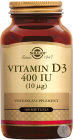 Vitamin D-3 10mcg/400iu Softgel 100