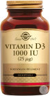 Vitamin D-3 25mcg/1000iu Softgel 100