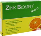 Zink Biomed Plus C Orange 50 Lutschtabletten