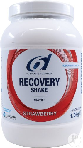 6d Recovery Shake Strawberry 1kg