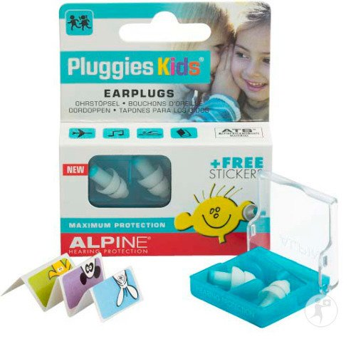 Alpine Pluggies Kids Ohrstöpsel 1 Set