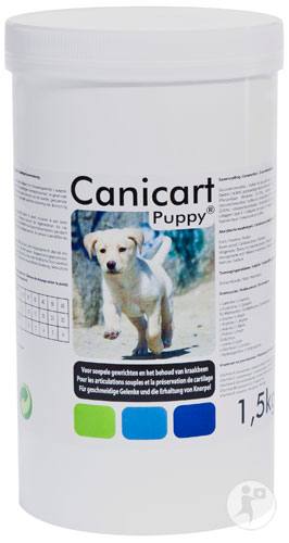 Anicur Canicart Puppy Orales Pulver Topf 1,5kg