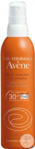 Avene Solar Solar Spray SPF30 200ml Kinder New Formula