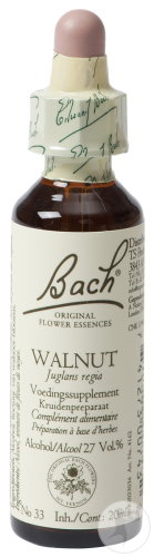 Bach Flower Heilmittel 33 Walnut (Walnuss) Flasche 20ml
