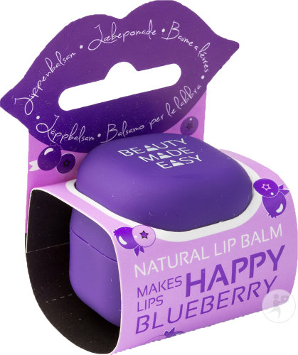 Beauty Made Easy Lip Balm Blueberry Purple