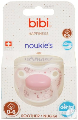 Bibi Happiness Dental Noukie's Schnuller Lola 0-6 Monate 1 Stück
