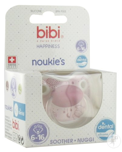 Bibi Happiness Dental Noukie's Schnuller Lola 6-16 Monate 1 Stück