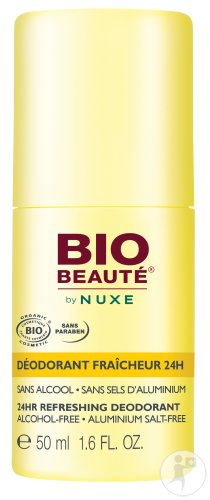Bio Beauté By Nuxe 24h-Frische-Deodorant Mit Korsischem Zedrat-Extrakt Roll-On 50ml