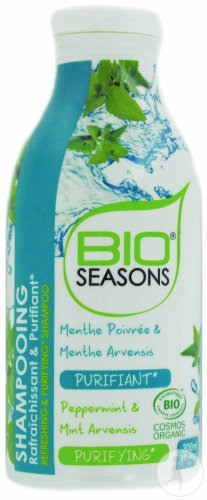 Bio Seasons Bio Organic Refreshing&Purifying Shampoo Flakon 300ml