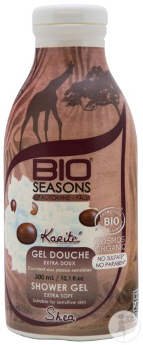 Bio Seasons Douchegel Z/sulfaat Karite 300ml