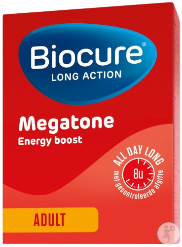 Biocure Long Action Megatone Energy Boost Adult 60 Filmtabletten