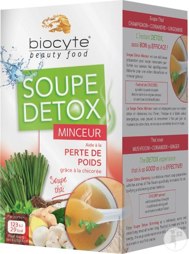 Biocyte Detox-Suppe Magerkeit 16x9g