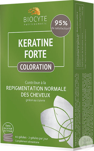Biocyte Keratine Forte Coloration Caps 60