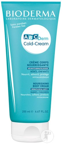 Bioderma ABCDerm Cold-Cream Körpercreme Tube 200ml