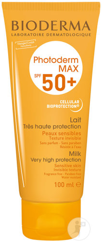 Bioderma Photoderm Max Sonnenmilch SPF50+ Tube 100ml