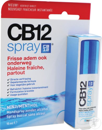 CB12 Mundspray 15ml