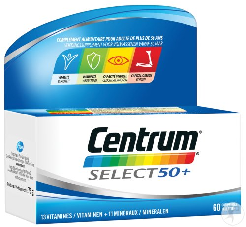 Centrum Generation 50+ Advanced 60 Tabletten