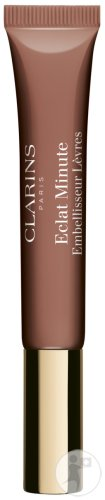 Clarins Eclat Minute Natural Lip Perfector Lip Gloss 06 Rosewood Shimmer Tube 12ml