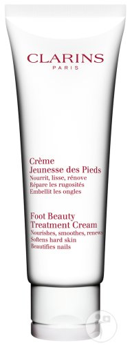 Clarins Foot Beauty Treatment Cream Fußcreme Tube 125ml