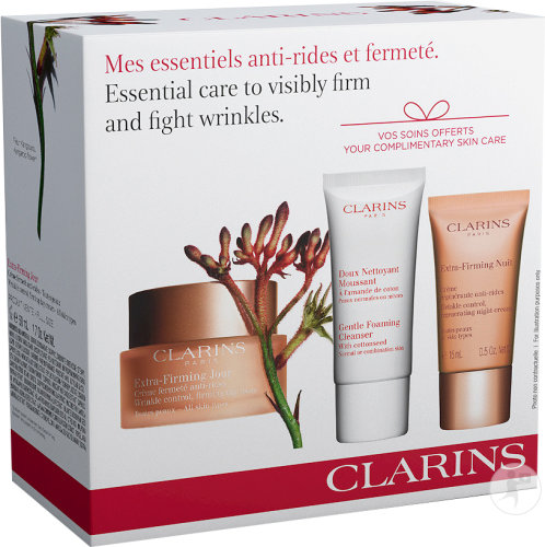 Clarins Geschenkset Essential Care To Visibly Firm & Fight Wrinkles