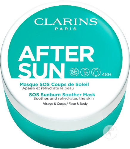 Clarins SOS Sunburn Soother Mask 100ml