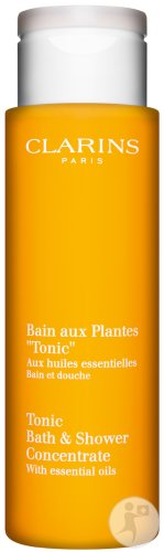 Clarins Tonic Bath & Shower Concentrate Pflanzenbad Flakon 200ml