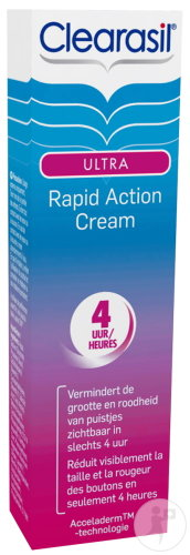 Clearasil Ultra Rapid Action Sofort Pickel Fighter Creme Tube 15ml