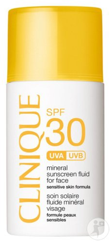 Clinique Mineral Fluid For Face SPF30 Tube 30ml