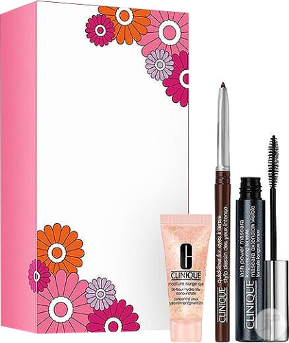Clinique Set Lash Power Mascara Long-Wearing Formula + Hydro-Filler Concentrate + Quickliner