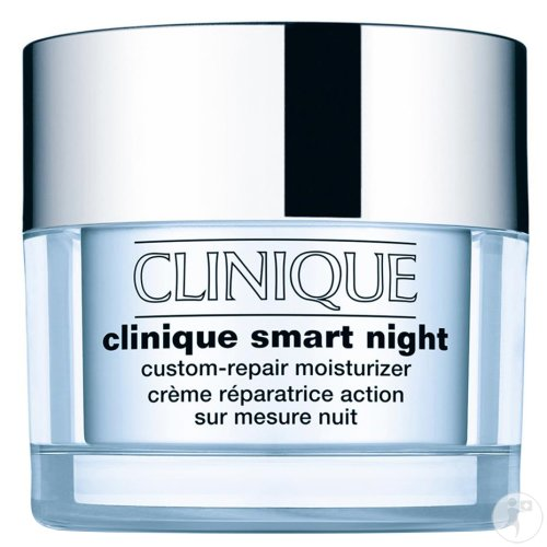 Clinique Smart Night Custom Repair Wiederherstellen Creme Mischhaut Und Ölige Haut 50ml