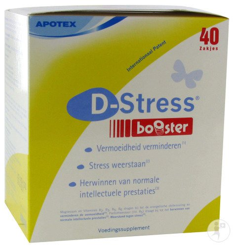 D-Stress Booster Pack 40 Pdr