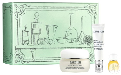 Darphin Geschenkset Ideal Resource: Creme 50ml + Eye Illuminator 15ml + Jasmin Aromapflege 4ml