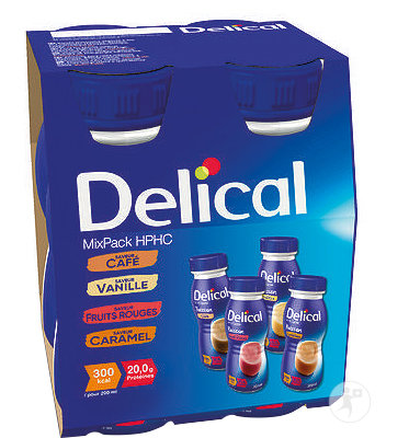 Delical Mixpack Hphc 4x200ml