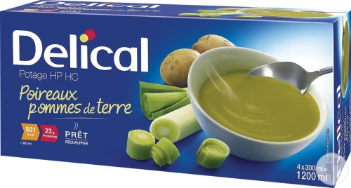 Delical Suppe HP HC Lauch Kartoffel 4x300ml