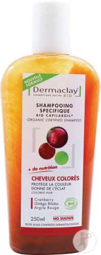 Dermaclay Organic Certified Shampoo Colored Hair 250ml