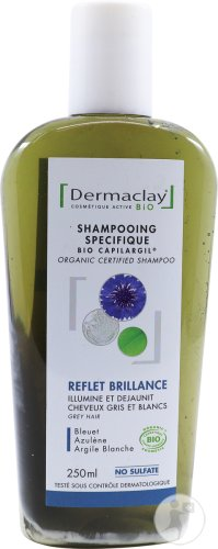 Dermaclay Shampoo For White And Grey Hair 250ml
