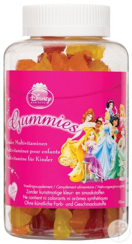 Disney Princess Kindermultivitamin-Gummibärchen 120