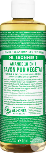 Dr Bronner's Liquid Soap Almond 473ml