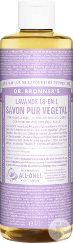 Dr Bronner's Liquid Soap Lavender 473ml
