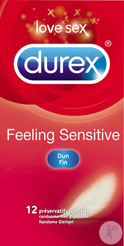 Durex Feeling Sensitive Gefühlsecht 12 Kondome