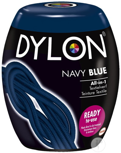 Dylon All-in-1 Textilfarbe Navy Blue 1 Set (08)
