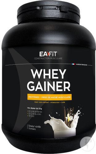 EA Fit Whey Gainer Vanille 750g