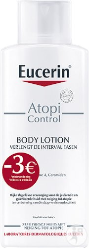 Eucerin AtopiControl Lotion 250ml Promo -3€
