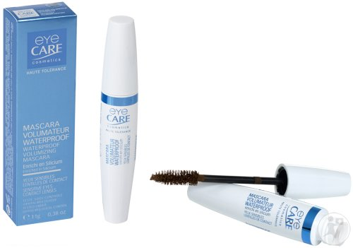 Eye Care Cosmetics Wasserfeste Volumen Mascara Braun 11g (6100)