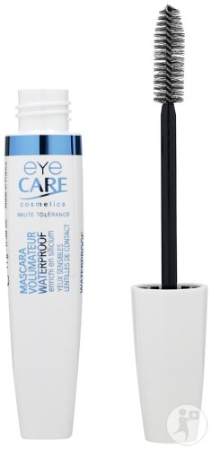 Eye Care Cosmetics Wasserfeste Volumen Mascara Schwarz 11g (6101)