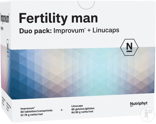 Fertility Man Duo 60 Tabl Improv.+60 Caps Linucaps