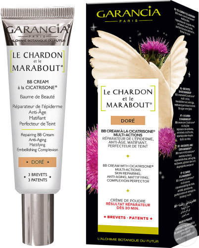 Garancia Le Chardon Et Le Marabout BB Cream Mit Cicatrisone Golden Tube 30ml