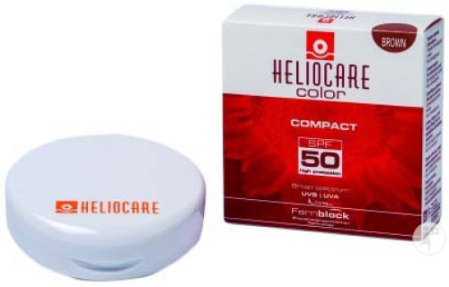 Heliocare Compact Make-Up SPF50 Brown 10g